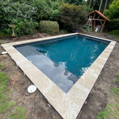 Bouwkundig zwembad Sint-Job